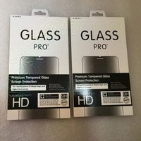 Wholesale colored tempered glasses for iphone for sale – best Laser colored border Retail Package Box Pack Tempered Glass H Screen Protector for iphone X XS MAX XR Galaxy S9 Plus