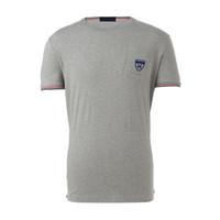 seksi erkekler tişörtleri toptan satış-Ünlü Shield Tasarımcı Erkek T Shirt Yumuşak Seksi tasarım Logo Man tişörtleri Yüksek Kaliteli Ekip Boyun Erkek Short Sleeve Tees T gömlek Tops