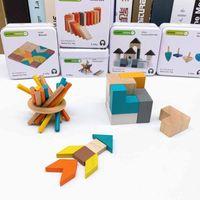aprender bloques de rompecabezas al por mayor-2019 nueva venta caliente bebé rompecabezas cubo viaje hierro caja cubo cubo rompecabezas bloque Gyro bebé aprendizaje temprano cognitivo juguete creativo