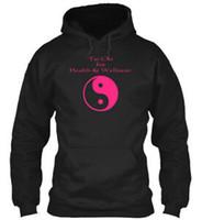 Wholesale tai chi shirts men resale online – Tai Chi Love Shirt Hoodie Sweatshirt