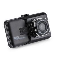 enregistrement de caméra de cycle achat en gros de-3,0 pouces LCD Dash Caméra Vidéo Voiture Enregistreur DVR Full 1080p HD G-Capteur 32GB Détecteur De Mouvement Cycle Enregistrement
