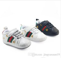 d85be7cf562de Retail Spring and Autumn sport baby shoes Newborn Boys Girls First Walkers  Infantil Toddler 2018 Soft sole Prewalker Sneakers for 0-18M