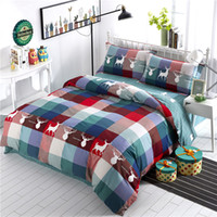 Wholesale king size fashion bedding for sale - 4pcs Egypt cotton Special Edition Printed fashion Bedding set Comfortable Duvet Cover set Bedsheet Pillowcases Queen King Size