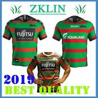 fußball-trikots australien großhandel-Neu 2019 2020 South Sydney Rabbitohs Fußballtrikot 18 19 20 ANZAC Rugby Trikots Trikot Australien Rugby Trikots