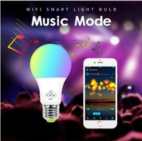 osram a mené des ampoules achat en gros de-Un grand nombre d'ampoules WiFi intelligentes disponibles dans le commerce prennent en charge les ventes directes d'Amazon alexa et de la fabrication de lampes à commande vocale googleled