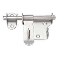 parafusos de trava da porta venda por atacado-Fechamento de aço inoxidável da trava do parafuso do tambor do deslizamento da segurança da porta da porta da venda quente, hardware da porta