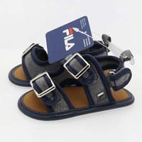 bebé recién nacido sandalias al por mayor-2019 nuevo lienzo zapatillas de deporte clásicas recién nacidos bebés varones primeros caminantes zapatos infantil niño suela suave antideslizante sandalias para bebés