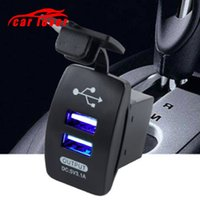 Wholesale android mobile tablets resale online - Car Motorcycle Cigarette Ligh USB Multi Super Fast Mobile Phone Charger Dual Micro USB Car Charger v A For Android Tablet PC