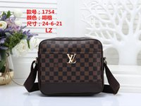 Wholesale canvas print factory online - Factory new handbag cross pattern synthetic leather shell chain bag Shoulder Messenger Bag Fashionista B013
