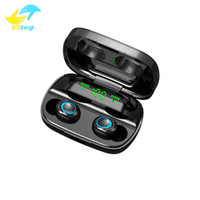 Wholesale wireless mini earphones for mobile for sale - Group buy S11 A New wireless TWS Bluetooth Earphone Wireless Earbuds Mini Wireless Headset mAh Power Bank Handsfree Headphones For Mobile