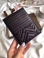 kadın kartviziti sahibi toptan satış-Tasarımcı çanta Ince Erkekler Debriyaj Billfold Cüzdan Kredi KIMLIK Kartı Tutucu İnce Çanta Banka Kartı Paketi Para Kılıfı Çanta İş Kadını Kuzu Derisi ma
