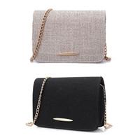 ingrosso mini sacchetti di lino-Donne calde di vendita Borsa a tracolla della borsa della borsa della borsa della borsa della mini borsa a tracolla della lino delle signore