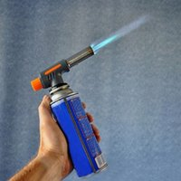 Wholesale weld tools resale online - Barbecue Igniter Lighter Flamethrower Outdoor Travel Party BBQ High Temperature Gas Torch Spray Gun Kitchen Supplies Welding Tool VT1698