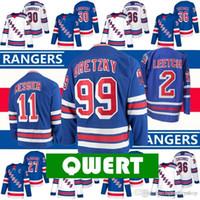 nhl jerseys xxl оптовых-NHL New York Rangers Hockey Jerseys 30 Henrik Lundqvistmika Zibanejad Rick Nash Mcdonagh Jesper Fast Chris Kreider классический Мессье Гретцк