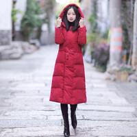 китайские пуховики оптовых-Китайский ветер хлопка женщин 2018 новая зима вниз хлопка ватник длинный раздел куртка