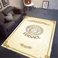 Wholesale 3d mats resale online - Printed Letter Goddess Mat Hallway Big Size European Style Carpet D Fashion Living Room Yoga Rectangle Carpet