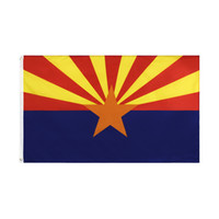 90x150cm US America Arizona State flag direct factory 3x5Fts