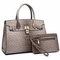 Wholesale extra large ladies handbags online - Dasein Women Handbags And Purses Ladies Shoulder Bag Top Handle Satchel Tote Work Bag With Wallet