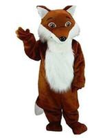 костюмы талисмана лисы оптовых-Костюм талисмана FOX