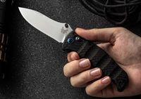cerraduras al aire libre al por mayor-Benchmade BM484 Nakamura M390-AXIS Cuchillo de bloqueo Mango de fibra de carbono exterior EDC C81 BM 940 942 BM810 781 3300 484-1 BM42 Cuchillo de mariposa