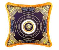 ingrosso i cuscini del gatto di pusheen-50 cm Vers Baroque Marchio Medusa Designer Cuscini Decorativi Velluto Addensato Nappa Cuscino Caso Creativo Lusso Reale Casa Cojines