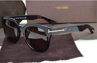 Wholesale printed eyewear resale online - luxury top big qualtiy New Fashion Tom Sunglasses For Man Woman Erika Eyewear ford Designer Brand Sun Glasses with original box tom