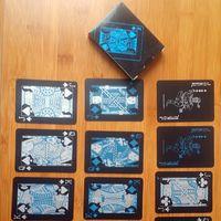 cartes de meulage achat en gros de-Noir Texas Holdem Classique Publicité Poker Étanche PVC Grind Durable Conseil Jeu De Rôle Jeux De Magie Carte 4 2hy