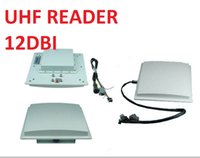 Wholesale passive antenna resale online - Passive Long Range RS232 Ethernet Wiegand RS485 WiFi UHF RFID Reader With dBi Antenna EU US mhz RFID Passive Reader