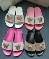 Wholesale general flowers resale online - 2019 men s and women s fashion casual slippers boys and girlsflowered printed flowered sandals men s and women s general outdoor beach