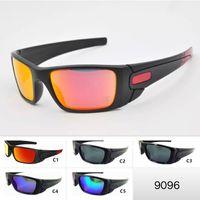 ingrosso grandi occhiali-5 Colori Mens Sport Occhiali da sole Cool Big Frame Outdoor O Eyewear 9096 Occhiali da moto Occhiali da sole unisex Occhiali da ciclismo
