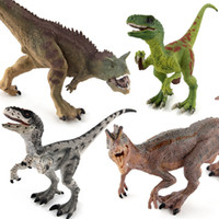 Wholesale high quality plastic figures resale online - High Quality Dinosaur World Park T Rex Pteranodon Therizinosaurus Spinosaurus Model Jurassic Dinosaurs Action Figures Doll Toy