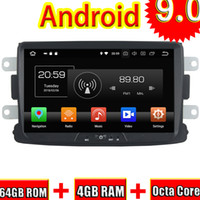 Wholesale car audio dvd head unit resale online - TOPNAVI Android Car Head Unit CD Player Autoradio For Duster GPS Navigation Audio Stereo Din NO DVD