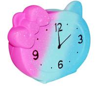 игровые будильники оптовых-Декомпрессионная игрушка Будильник Star Squishies Toys Kawaii Gag toys Медленно растущая игрушка для разминания Reliever Kids Подарок для семьи украшают