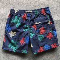 pantalones cortos de secado rápido al por mayor-Junta seco vilebrequin para hombre Surf Beach Shorts de baño Trunks Rápida Use pantalones cortos de verano swimtrunks Bañadores Siwmwear