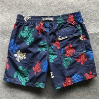 baño de hombres al por mayor-Vilebrequin Hombres Surf Pantalones cortos de playa Troncos de baño Pantalones cortos de tabla de secado rápido Trajes de baño de verano Vestidos de fantasma Bañadores Siwmwear