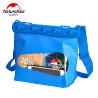 Wholesale camera kit bags resale online - Naturehike Outdoor Swimming Bag For Phone Camera Diving Drifting Men Women Shoulder Waterproof Bag C18112001