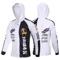 hoodies de ciclagem venda por atacado-Hoodie masculino de pesca ciclismo jersey casaco mangas compridas camisa pano de secagem rápida ao ar livre esportes roupas