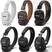 Wholesale stereo cell phone speaker resale online - Hight Quality Marshall Headphones of MAJOR I II III MID ANC MONITOR MODE EQ Wired Wireless Bluetooth On ear Headphones STOCKWEL Speaker