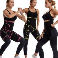 Wholesale butt hips resale online - Waist Thigh Trimmers in Waist Trainer Butt Lifter and Hips Burn Fat Size Fat Burner Leg Slimming Waist Trimmer LJJK2099