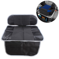 Wholesale black dog cover for sale – best Car Seat Guardian Protector Baby Child Carseat Seat Protective Cover Dog Mat Vehicle Cover With Storage Pocket Non Slip Black