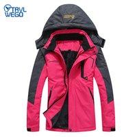 Wholesale red snowboard jackets for sale - Group buy TRVLWEGO Degree Super Warm Winter Ski Jacket Travel Women Waterproof Breathable Snowboard Snow Jacket Outdoor Skiing Coat