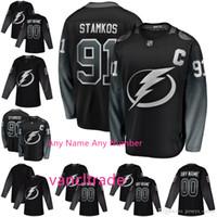 d82660550 Wholesale steven stamkos jersey for sale - Custom Mens Tampa Bay Lightning  Alternate Jersey Nikita Kucherov