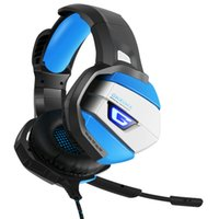 super xbox venda por atacado-Gaming Headset Super Bass Com Cancelamento de Ruído LED Estéreo Fones De Ouvido Com Microfone para PS4 Xbox PC Laptop 1 PCS
