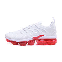 innovative design 2fecd 37410 Nike 2018 Vapormax TN Plus Nuevas llegadas vapores TN Plus oliva en  metalizado blanco plata Colorways zapatos hombres zapatos para correr Male  Shoe Pack ...