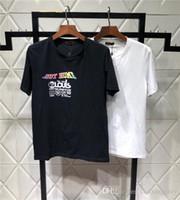 évents extérieurs achat en gros de-19ss New Arrvial Kansas Vents Amoureux Coton Tshirts Paris V Impression Pas À La Maison À Manches Courtes D'été Tee Respirant Gilet Chemise En Plein Air T-shirt