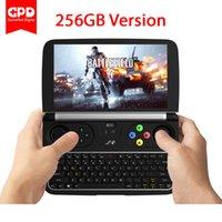 mini pc sdd toptan satış-Yeni GPD WIN 2 WIN2 8 GB / 256 GB 6 Inç El Oyun Dizüstü Intel Core m3-7Y30 Windows 10 Sistem RAM Cep Mini PC Dizüstü