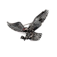 eagle pins 2021 - Vintage Eagle Animal Brooches Metal Birds Badge Collar Pins Suit Shirt Lapel Pin Jewelry for Men Accessories Gifts DHL