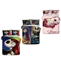 ingrosso 3d bedding set-3D The Nightmare Before Christmas Bedding Set Copripiumino Copripiumino