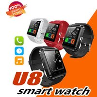 Wholesale t8 electronic for sale - Group buy Original U8 Smart Watch Bluetooth Electronic Smart Wristwatch For Apple IOS Watch Android Smart Phone Watch PK GT08 DZ09 A1 M26 T8