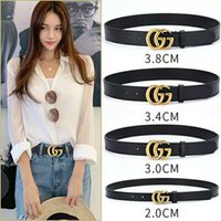 Wholesale belt for male resale online - 2019 Hot Brand High quality designer bronzed pearl buckle belts for men women top fashion casual genuine leather male female belt